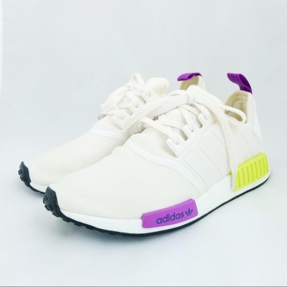 24b4079fc Adidas NMD R1 Men s Running Shoe Boost Chalk White